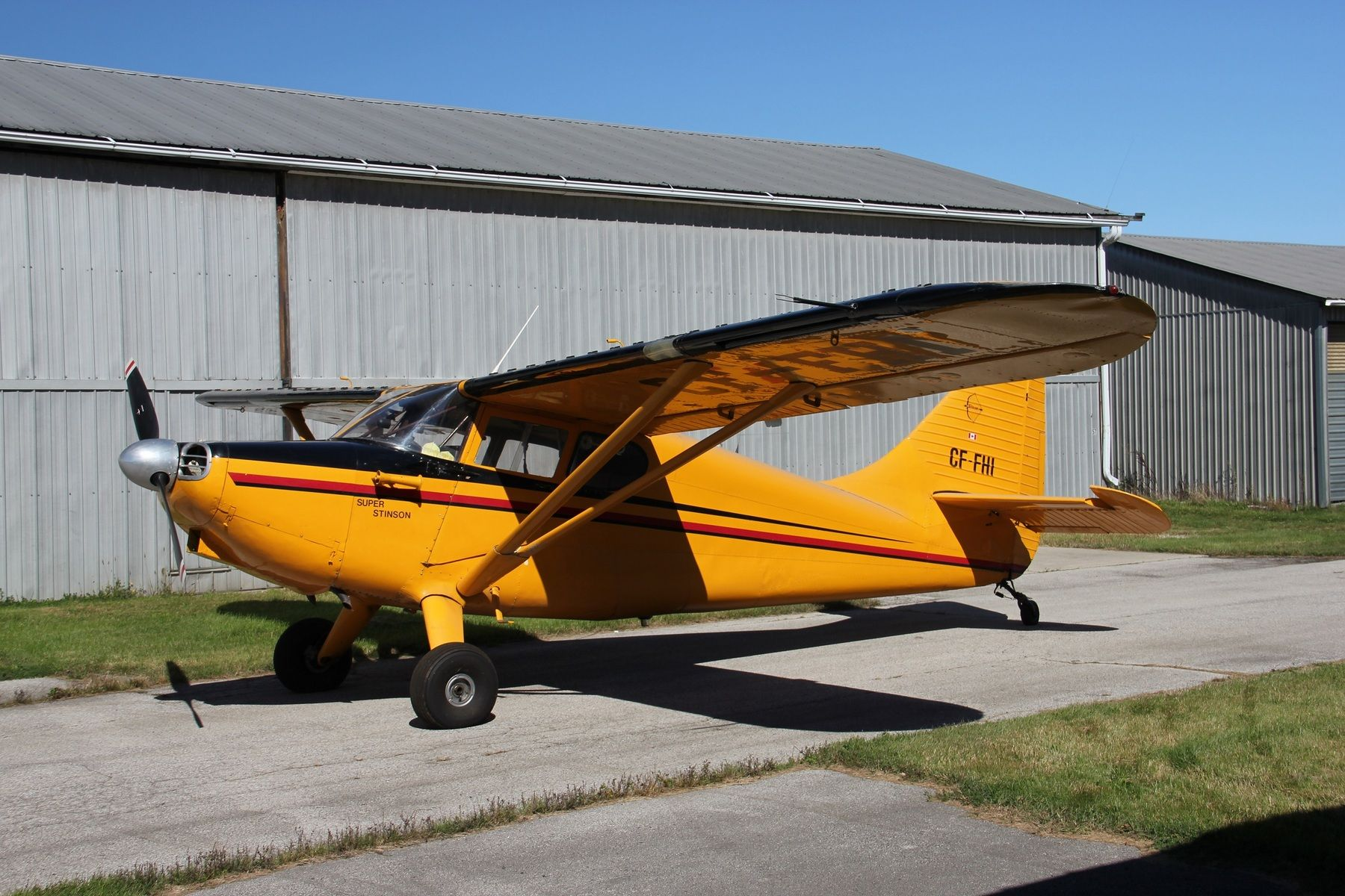 Bush Plane For Sale >> 1948 Stinson 108 3 Super Stinson 225hp Metalized For Sale In Czba