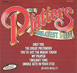 The Platters: Greatest Hits LP VG++ Canada Precision Records TVLP-76016: Amazon.ca: Music