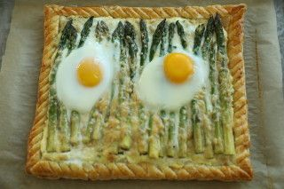 Make and share this Caesar Asparagus Tart recipe from Food.com.