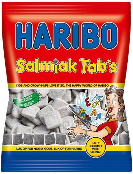 Salmiak Tabs 135g salmiakkki - Makeiset - Ruoka