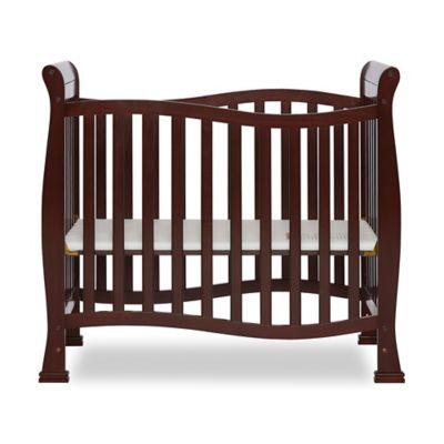 Dream On Me Piper 4 In 1 Convertible Mini Crib In Espresso Mini Crib Cribs Baby Cribs Convertible