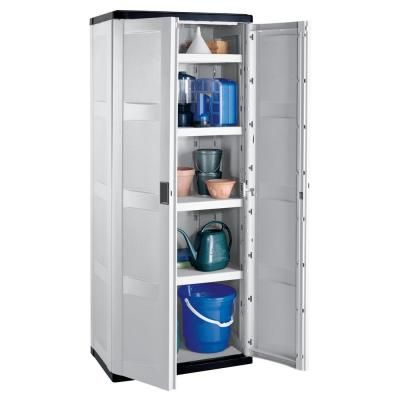 Suncast Storage Trends Tall Cabinet C7200g At The Home Depot