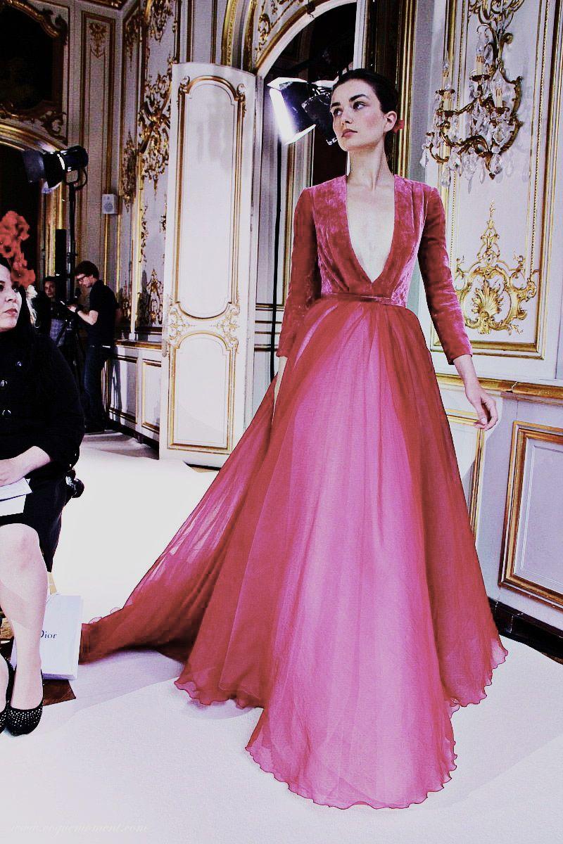 Georges Hobeika Haute Couture F/W 2012 | PINK | Pinterest | Detalles ...