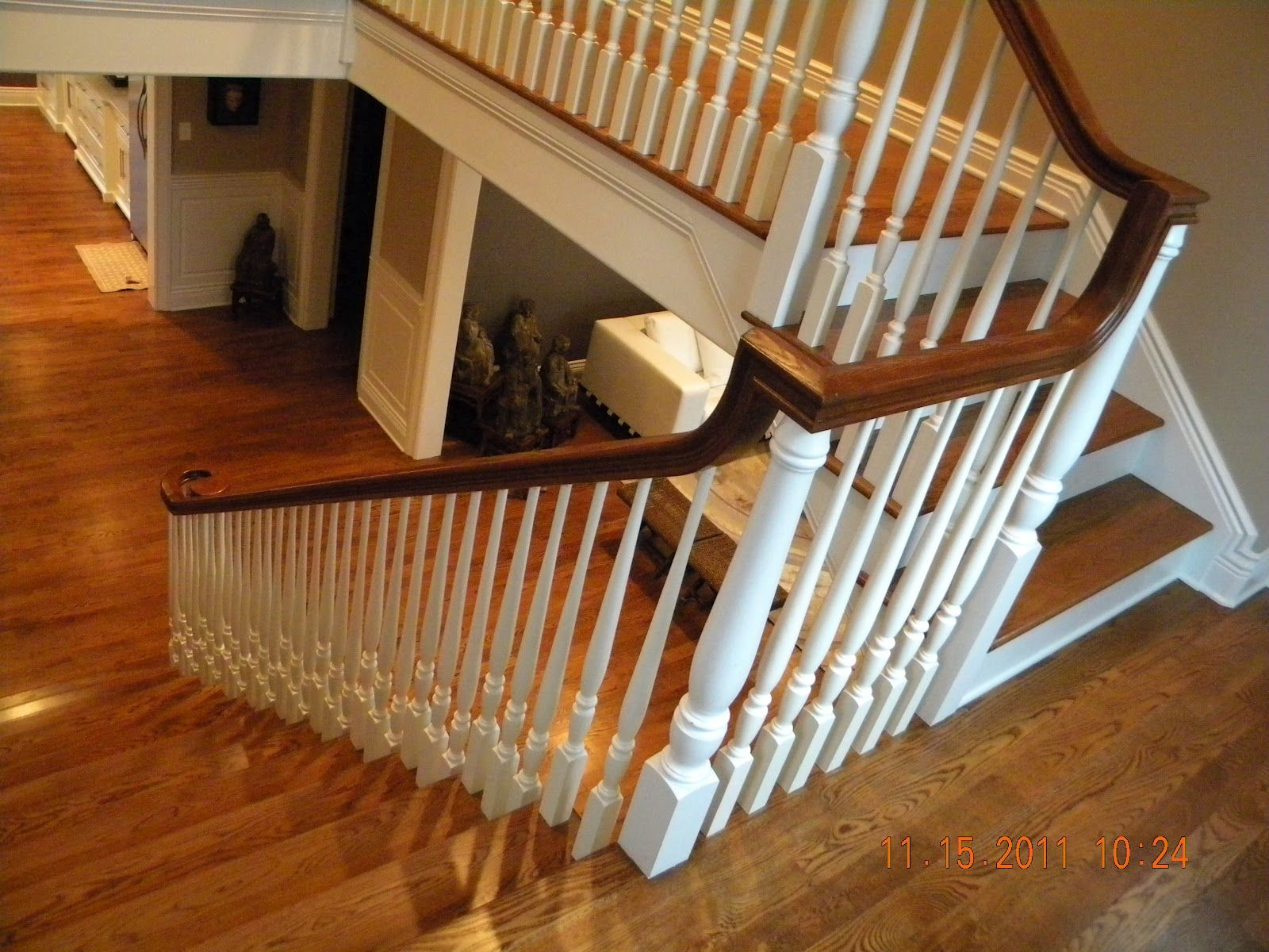 Best Image Result For White Wood Interior Railing For Sale 400 x 300