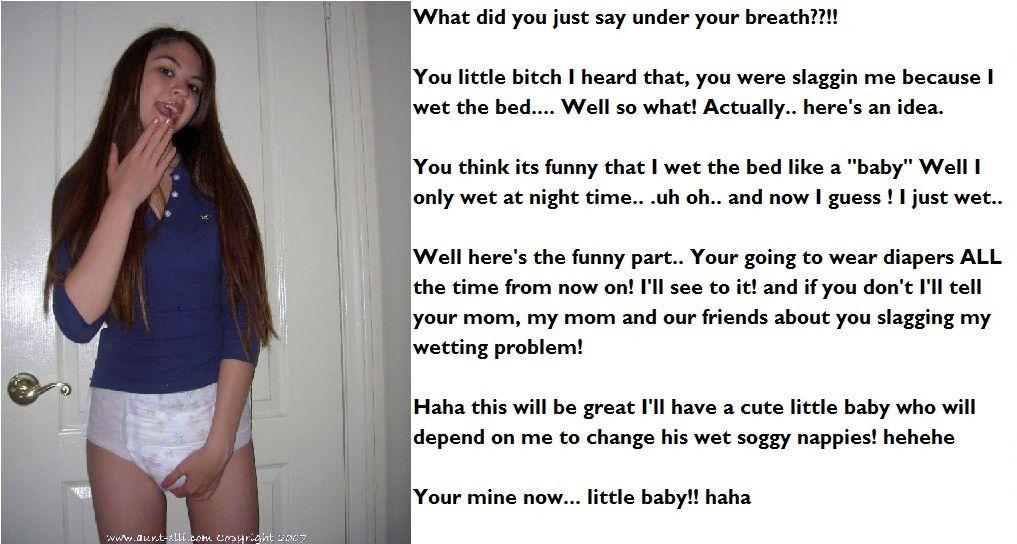 Teen wet diaper porn think