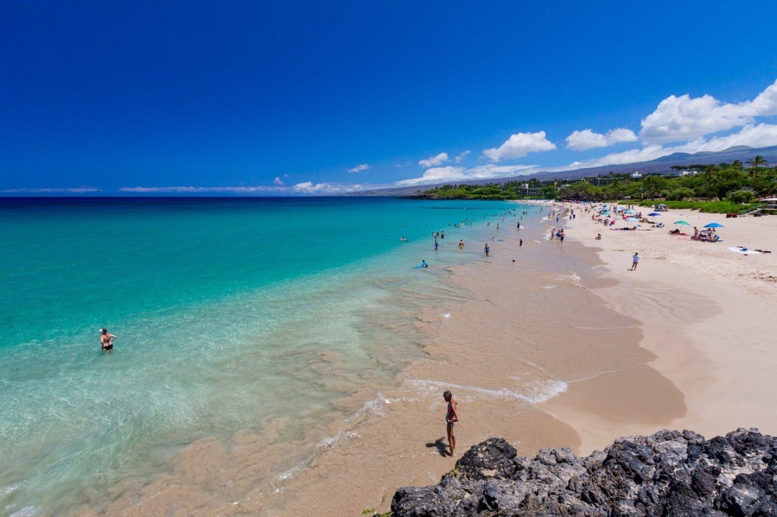 List Of Beaches On The Big Island Beach Map Hawaii In 2020 Big Island Hawaii Island Beach Big Island