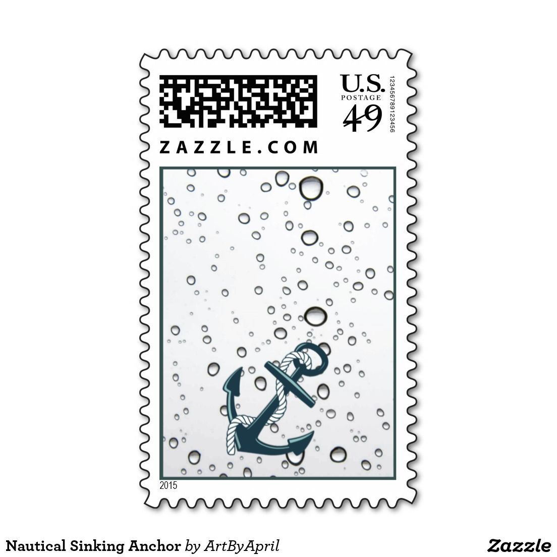 Nauticastampl Sinking Anchor Postage With Images
