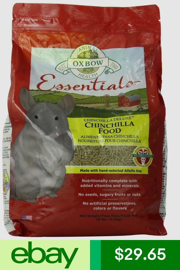 Oxbow Food Pet Supplies Ebay Chinchilla Food Food Small Animal Food