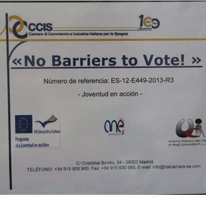 No barriers to vote