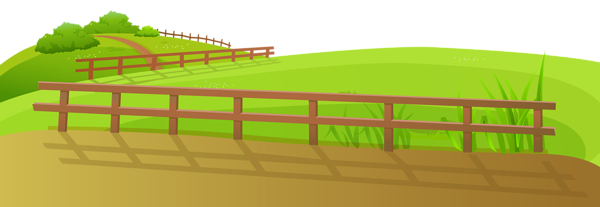 Grass Ground With Fence Png Clip Art Image Clip Art Art Images Image
