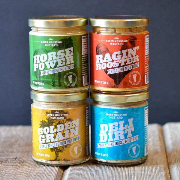 Green Mountain Variety Pack | $27.96. 4 of the signature mustards ranging from in flavor from homemade sriracha to everything bagel. Available at: manykitchens.com