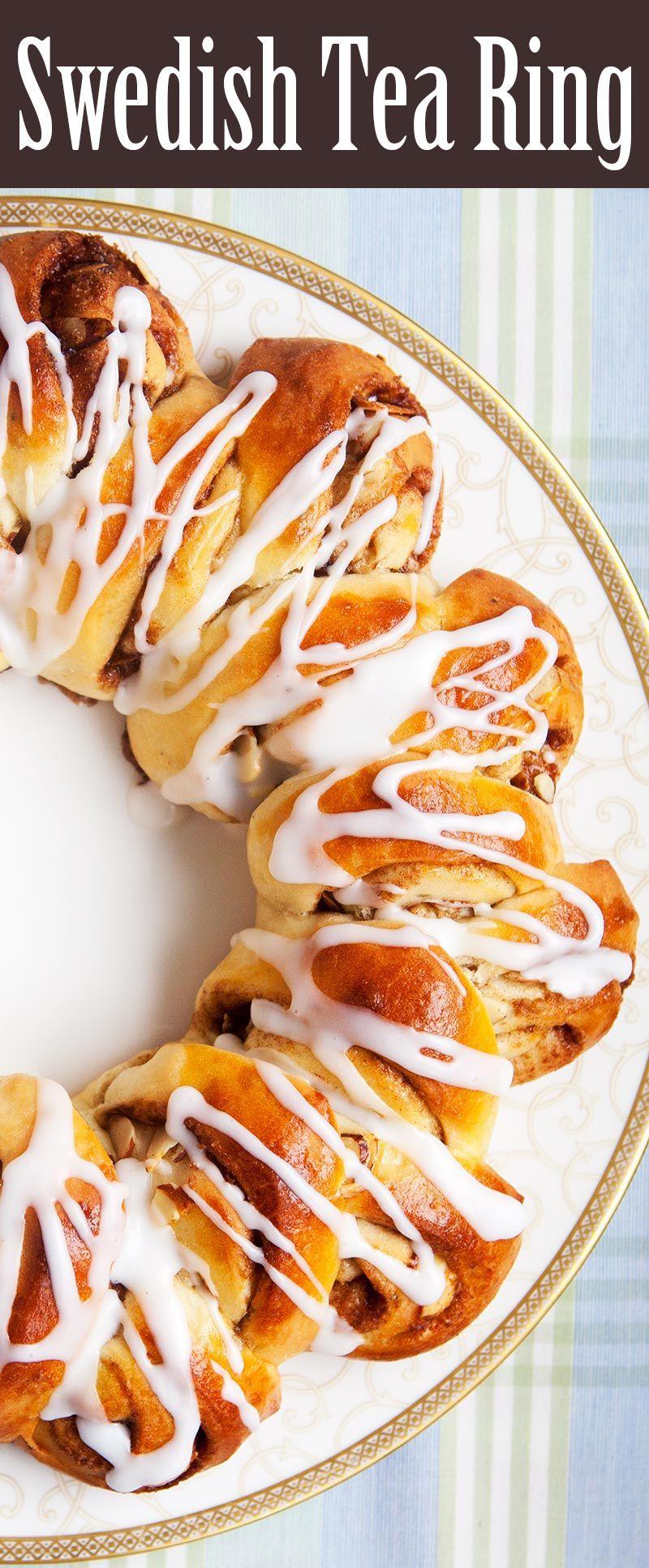 Swedish Coffee Bread Tea Ring