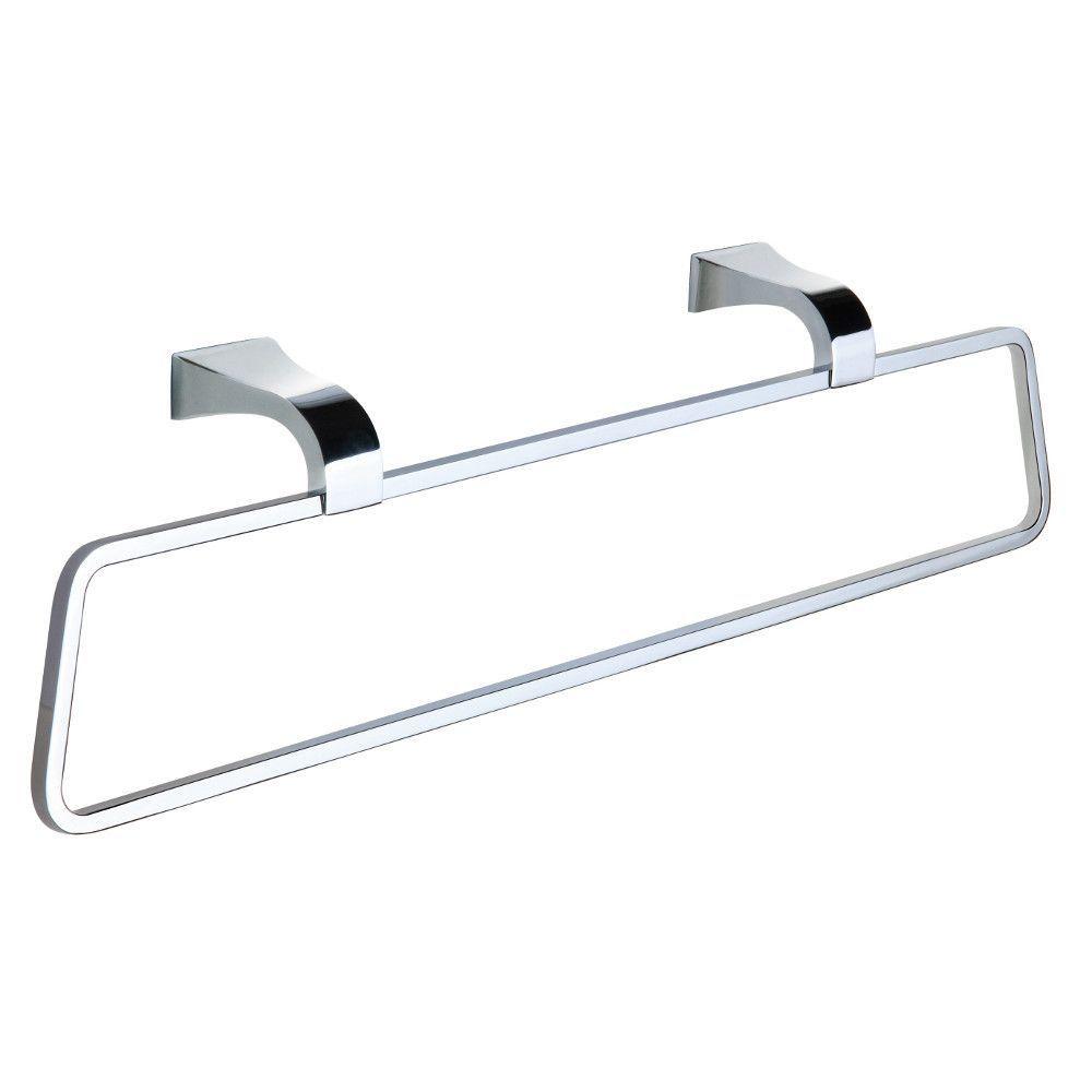 Towel Bars Mimic Chrome