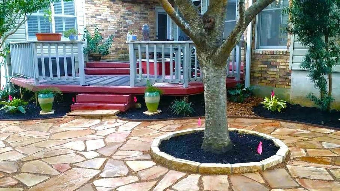 The best tree ring landscaping ideas for your garden 06