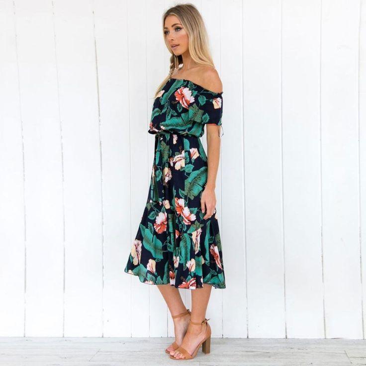 CUTE PLUS SIZE DRESSES! Amazon.com  SanCanSn Plus Size Dress Womens Off  Shoulder Denim Shirt Dress Tops Beach Mini Dress Sundress  Beauty  sponsored 50e4e1312d