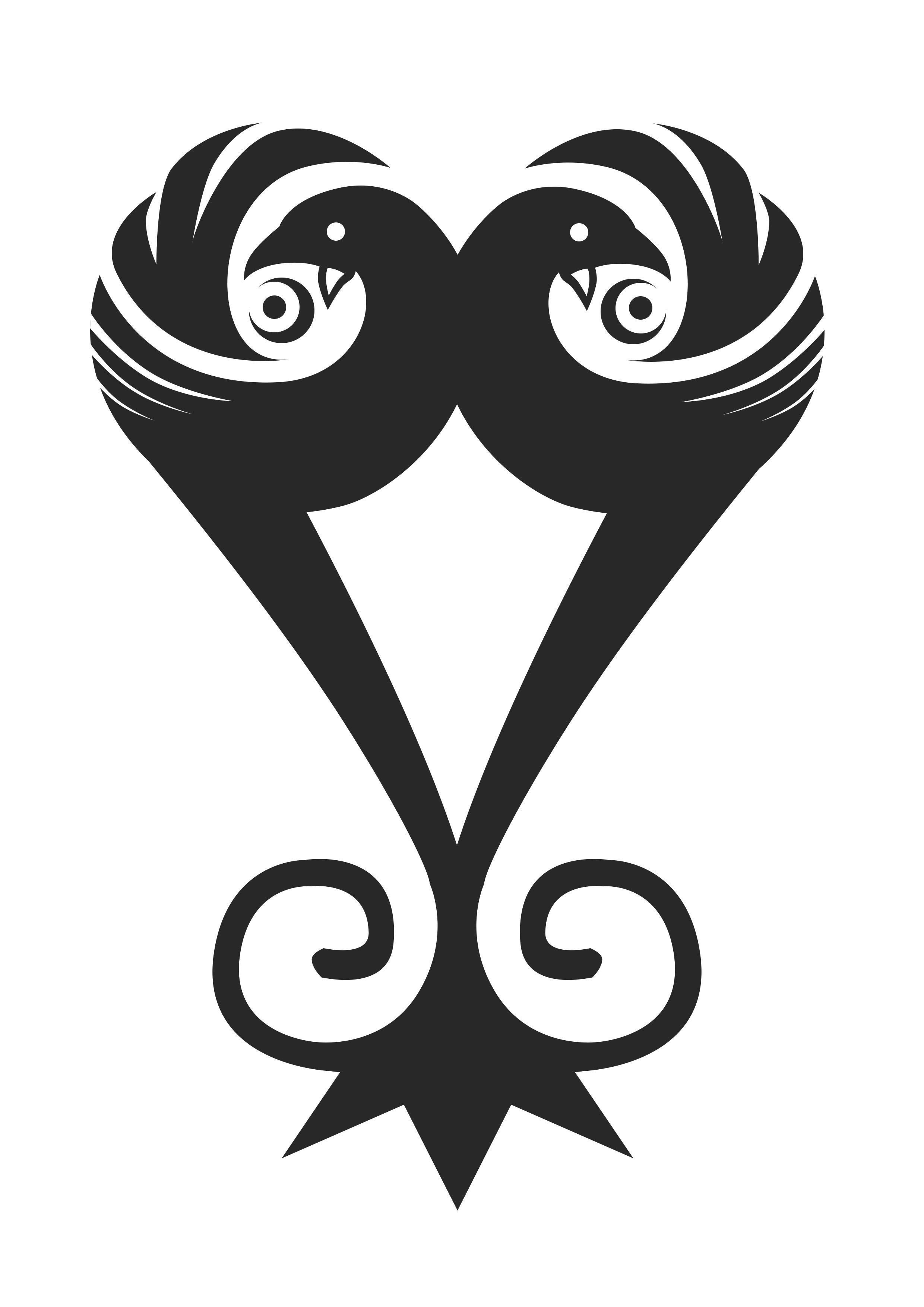 Duality of Sankofa (With images) Adinkra symbols