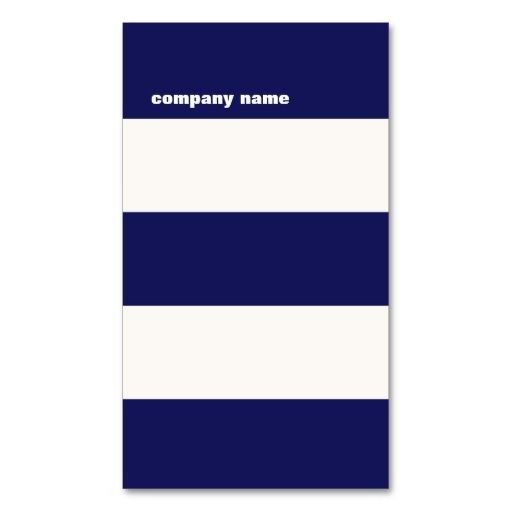Modern DJ Hip Navy Blue and White Stripes Business Cards. This is a fully customizable business card and available on several paper types for your needs. You can upload your own image or use the image as is. Just click this template to get started!