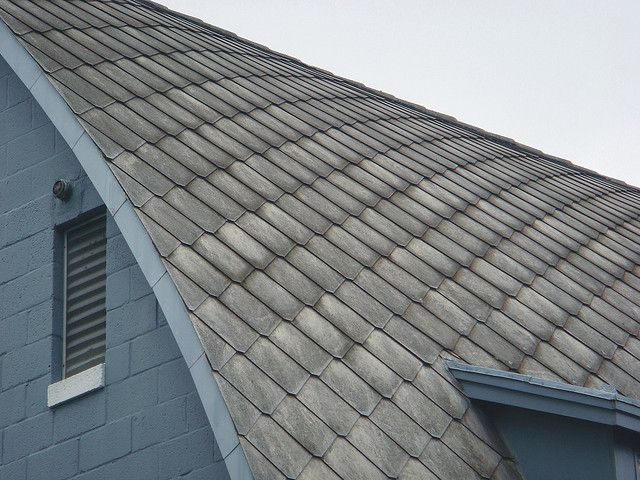 Asbestos Cement Roof Shingles Pattern Building Shingles Roof
