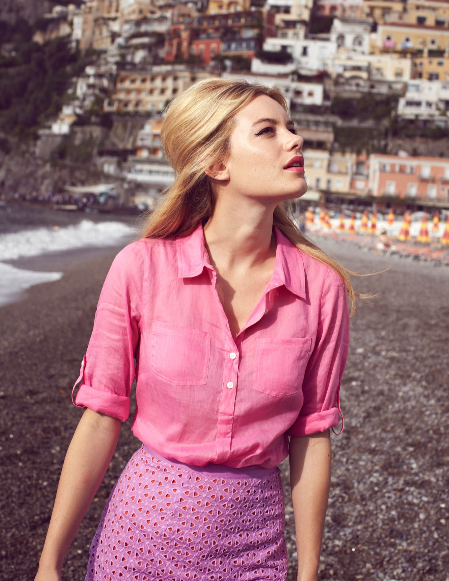My two loves, together — Boden and Positano! Pink Broderie Anglaise ...