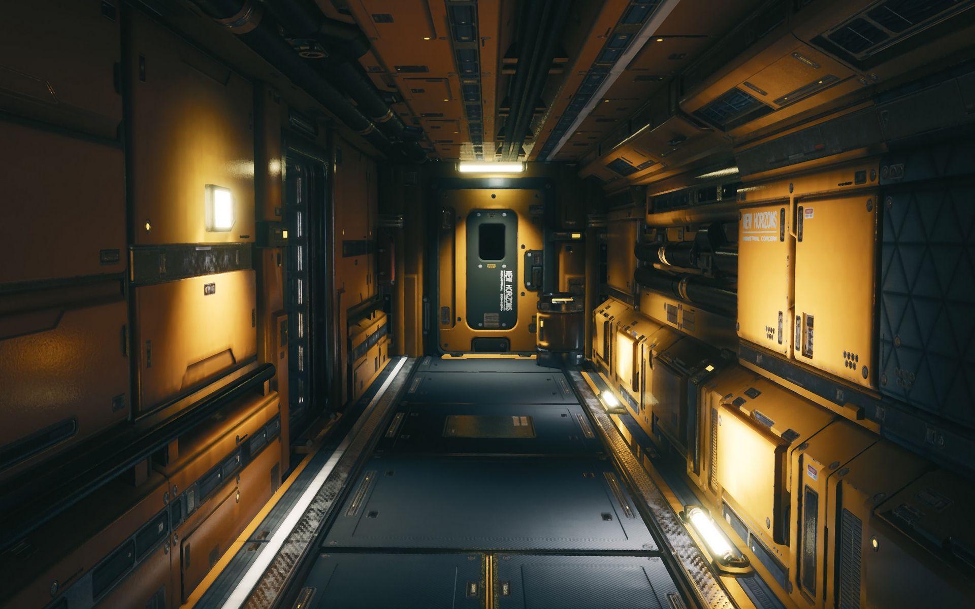 Sci Fi Interior Hd Wallpaper Sci Fi Environment Concept