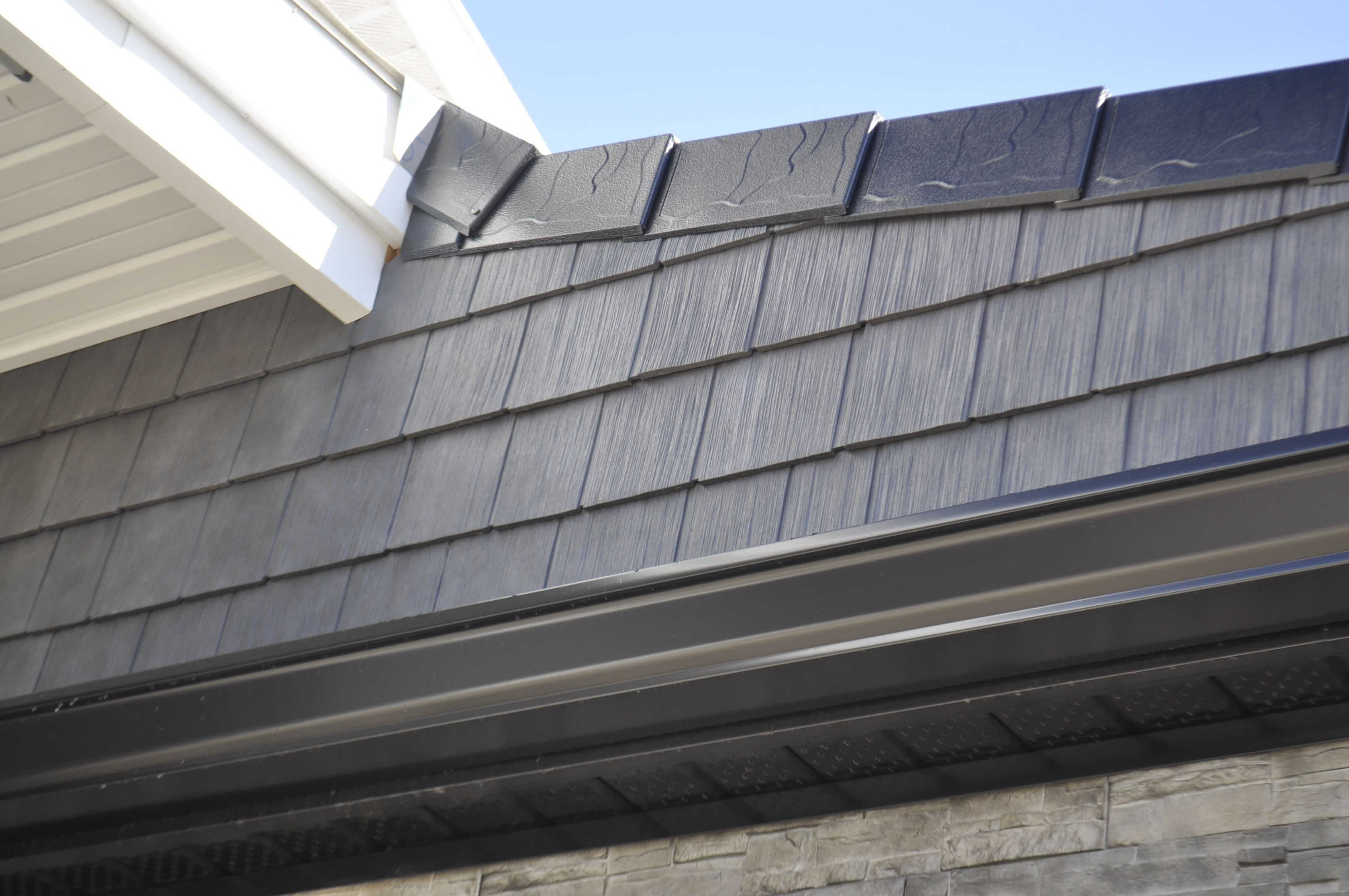 Novik Rs8 Shake With Buchner Manufacturing Aluminum Slate Shingles Metal Shingles Aluminum Shingles Slate Shingles