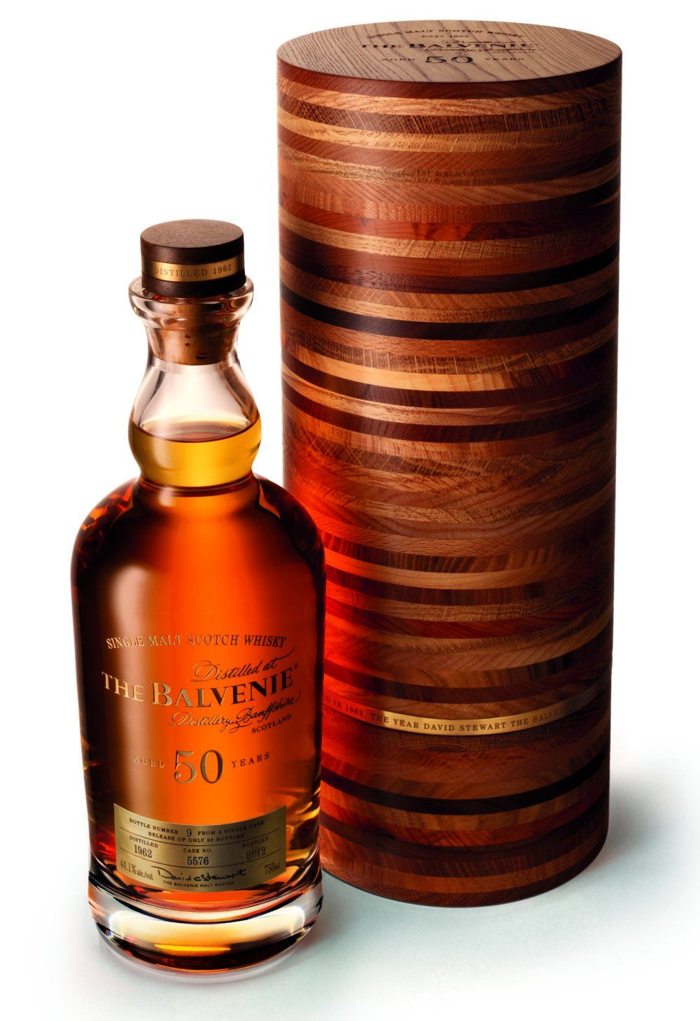 Balvenie 50 Year Old Whisky Single Malt Whiskey Malt Whisky