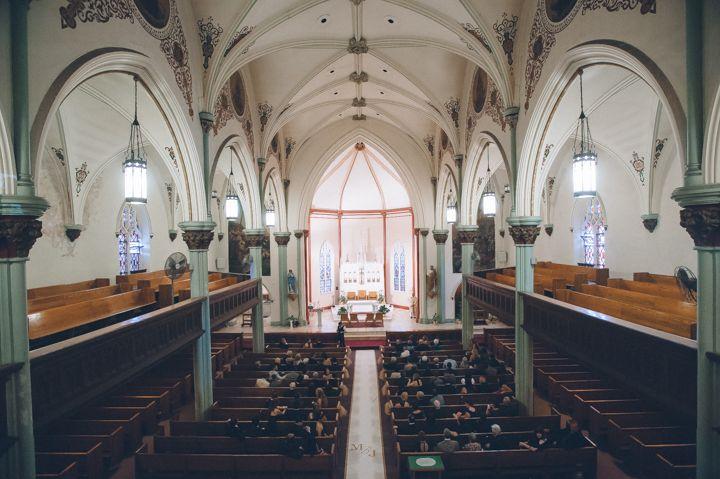 St  Peter the Apostle Church wedding in New Brunswick, NJ