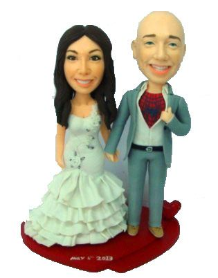 Create Your Custom Wedding Cake Toppers