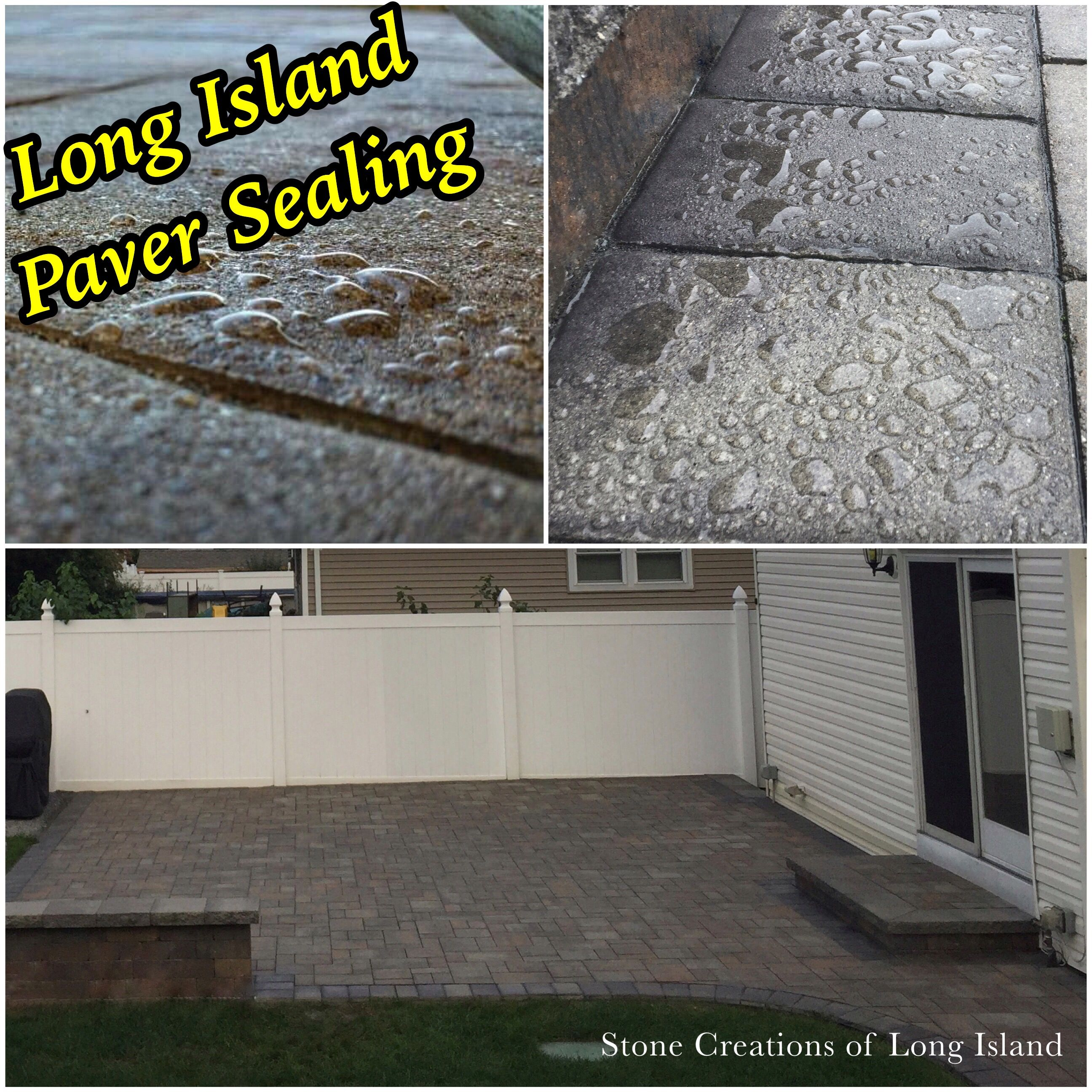 Other Benefits Of Sealing Your Pavers Are Inhibits Weeds And