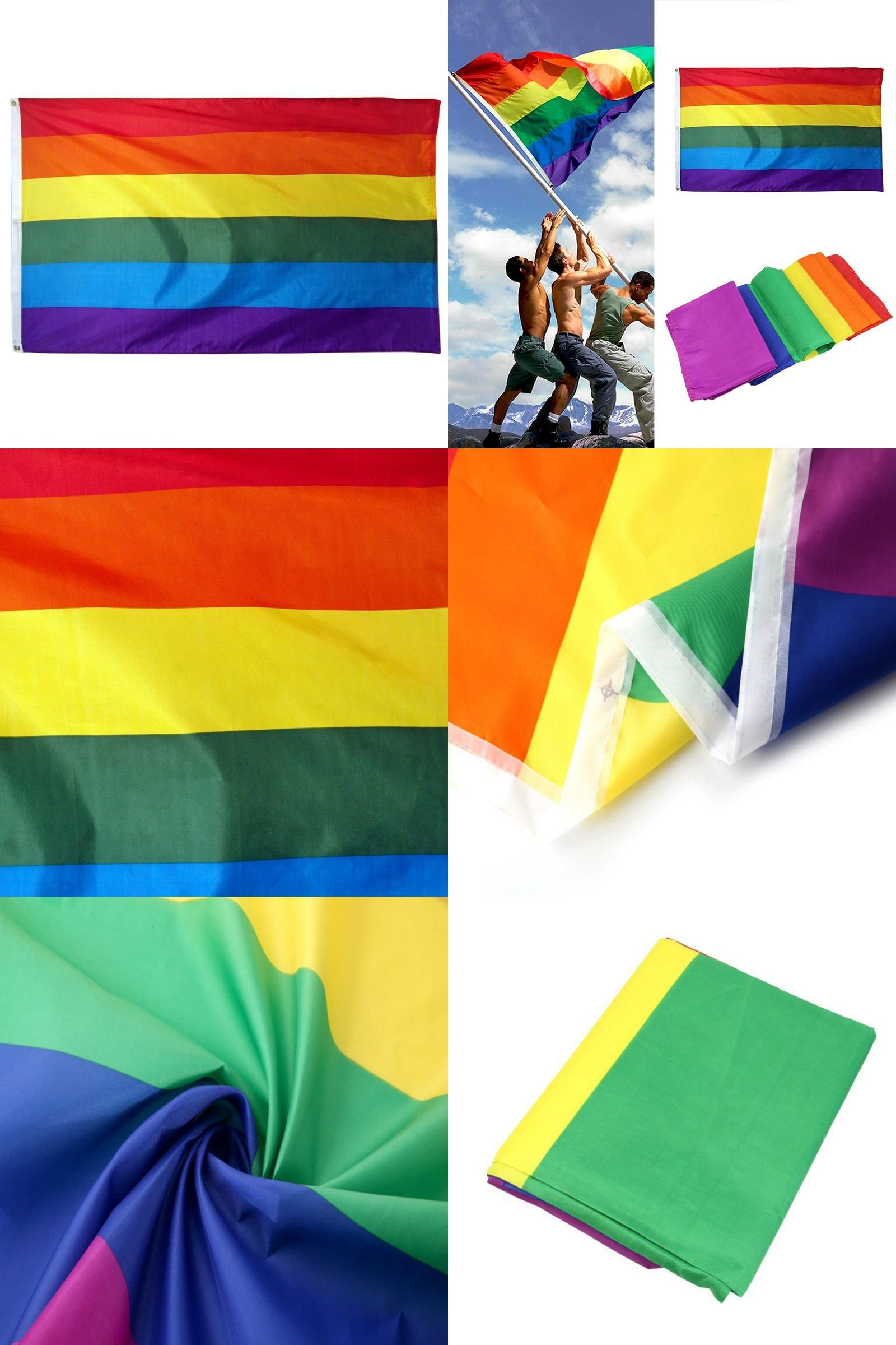 Perfect Cheap Rainbow Flag, Buy Quality Flag Directly From China Flag Rainbow  Suppliers: New Rainbow Flag FT Polyester Lesbian Gay Pride LGBT For Home  Decoration