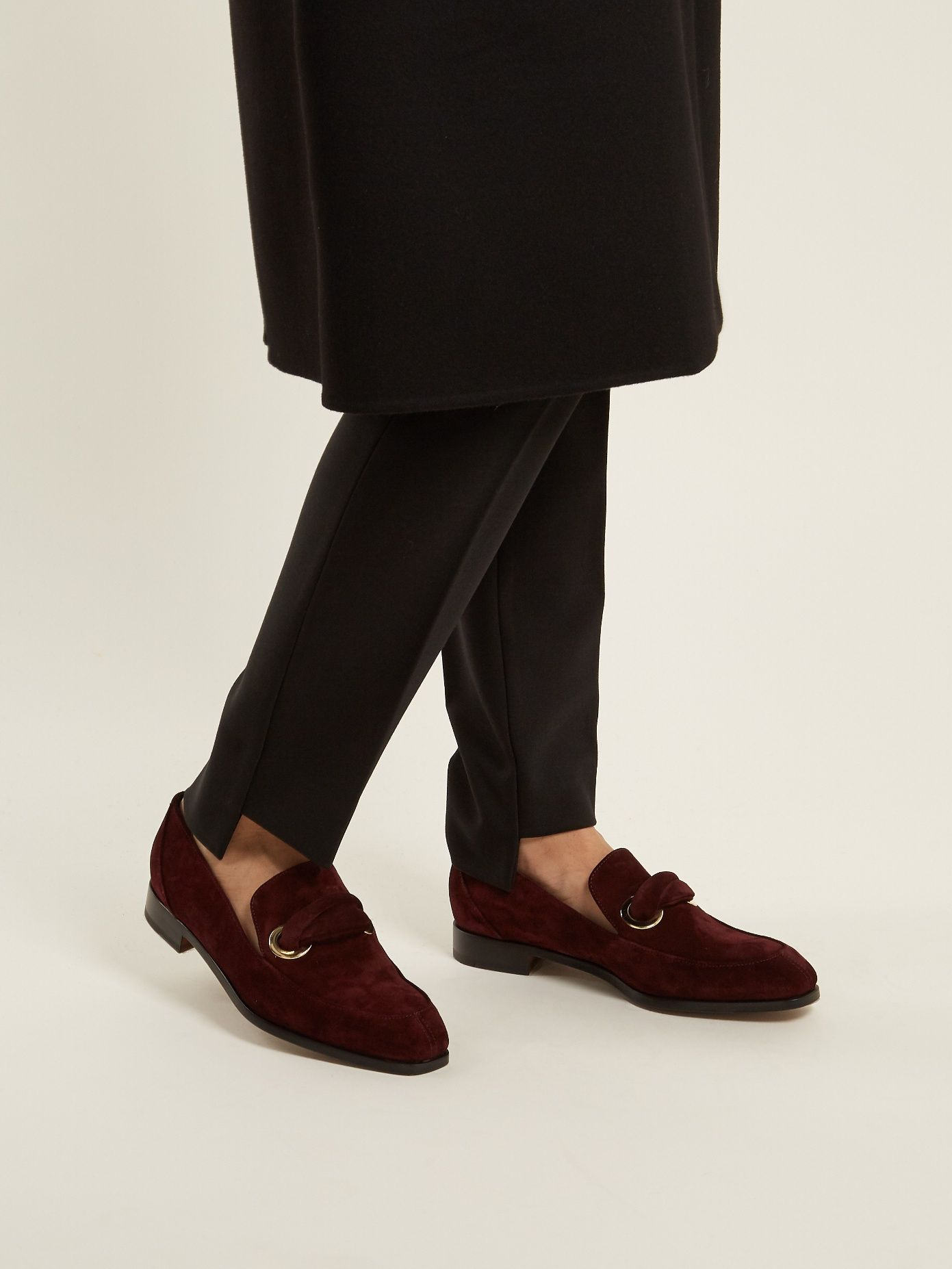 For Sale Cheap Real Outlet Cheap Prices Rupert Sanderson Pickering suede loafers Free Shipping Shopping Online Classic kmQaryiDeQ