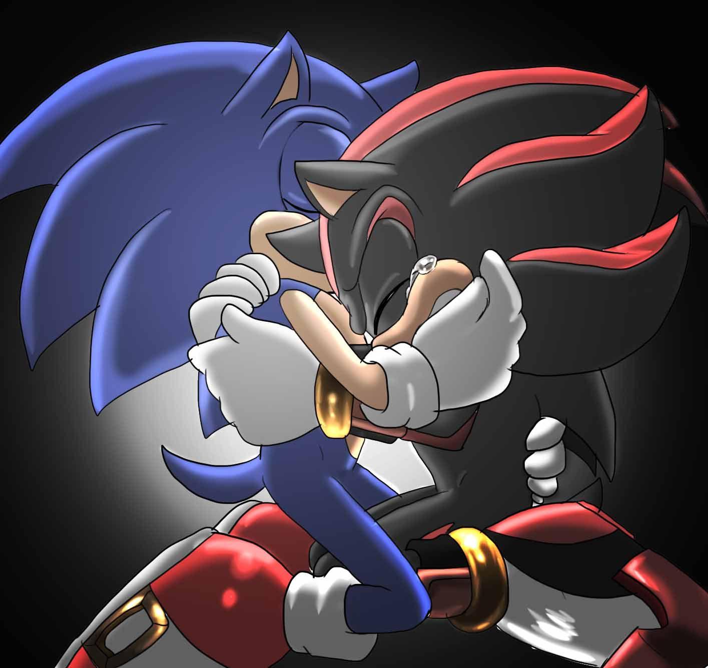Sonadow sonadow pinterest the impossible my heart - Sonic et shadow ...