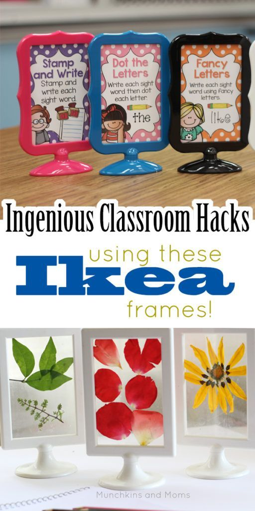 Ikea Hack Tolsby Frames In The Classroom And Homeschool Munchkins And Moms Ikea Classroom Toddler Classroom Classroom Organisation