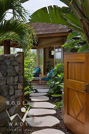 Pin By Natalie Porec On Deck Ideas Hawaiian Homes Hawaii Homes Tropical Houses