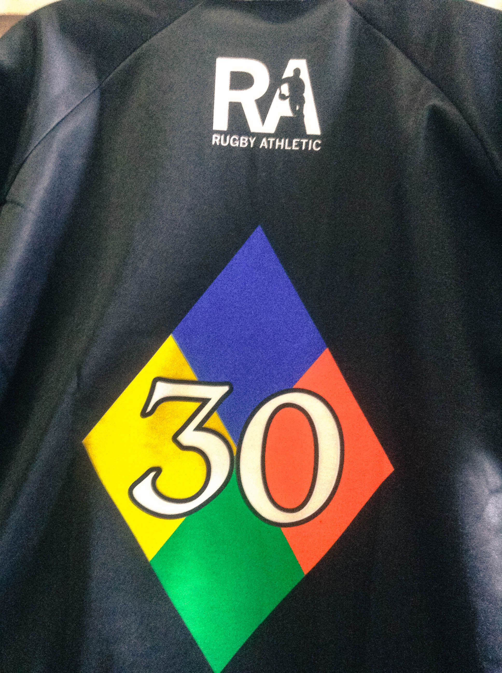 The Back Of The Atlanta Harlequins 30th Anniversary Rugby Athletic Jersey Www Rugbyathletic Com Tech Logos Georgia Tech Logo Rugby