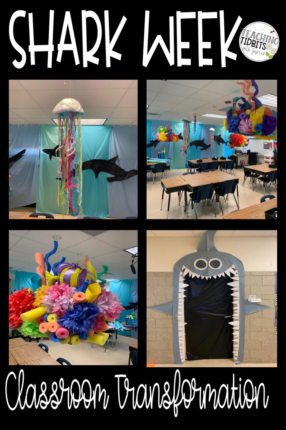 Shark Activities for the Classroom - Teaching Tidbits with Jamie - Shark Week Activities for the c