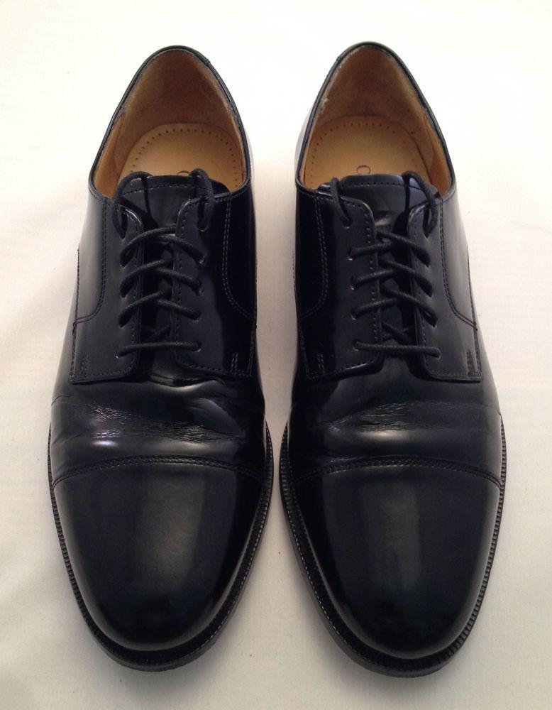 0a8486828ed8fa Cole Haan Mens Oxford Dress Shoes Size 10.5 M Air Carter Captoe Black  Leather D  ColeHaan  Oxfords