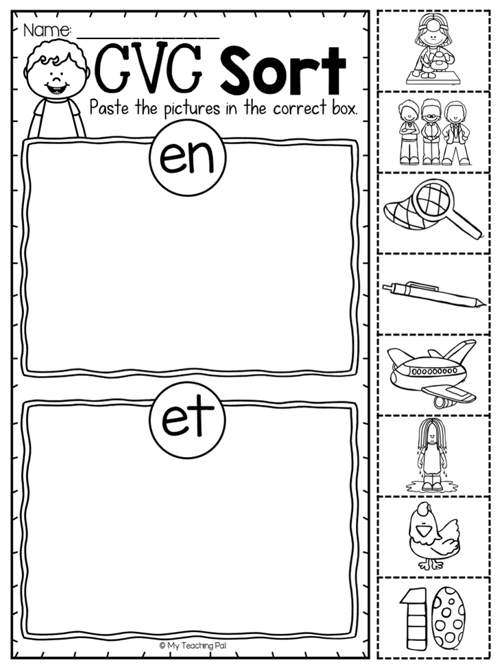 Short E Sorting Word Families Worksheet This Short E Pack Provides Pages And Pages Of Cvc Learning And P Word Family Worksheets Short E Words Family Worksheet