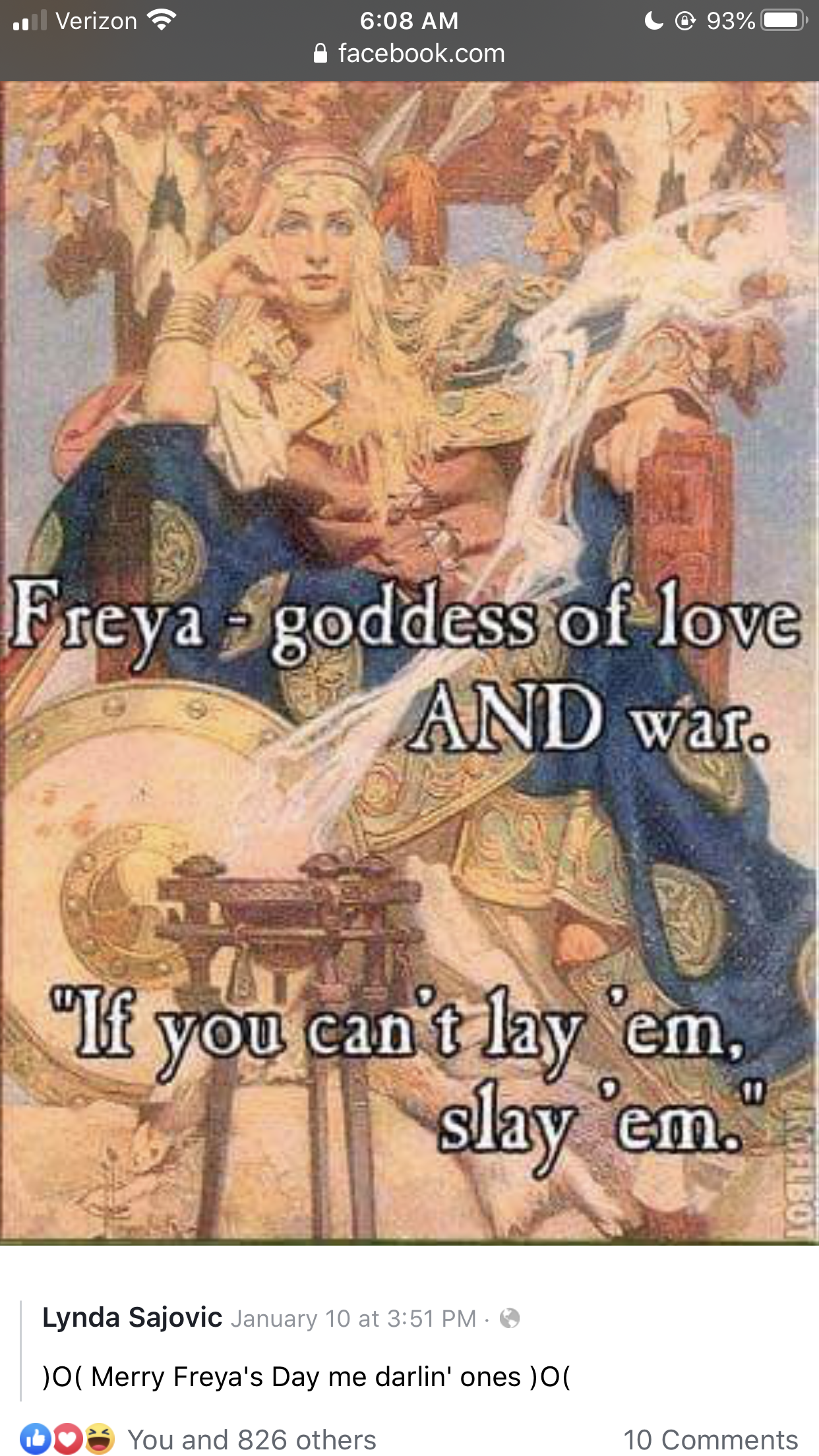 Pin By Happyhomemaker On Funny In 2020 Freya Norse Mythology Norse Pagan Freya Goddess