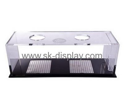 Acrylic Products Manufacturer Customized Plexiglass Stands Coffee Awesome Coffee Cup Display Stands