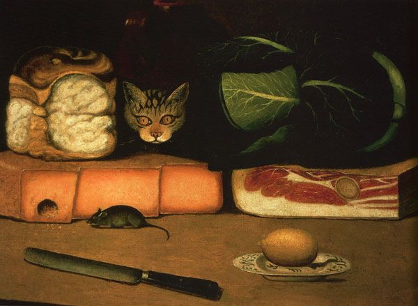 History of Art: cats in art