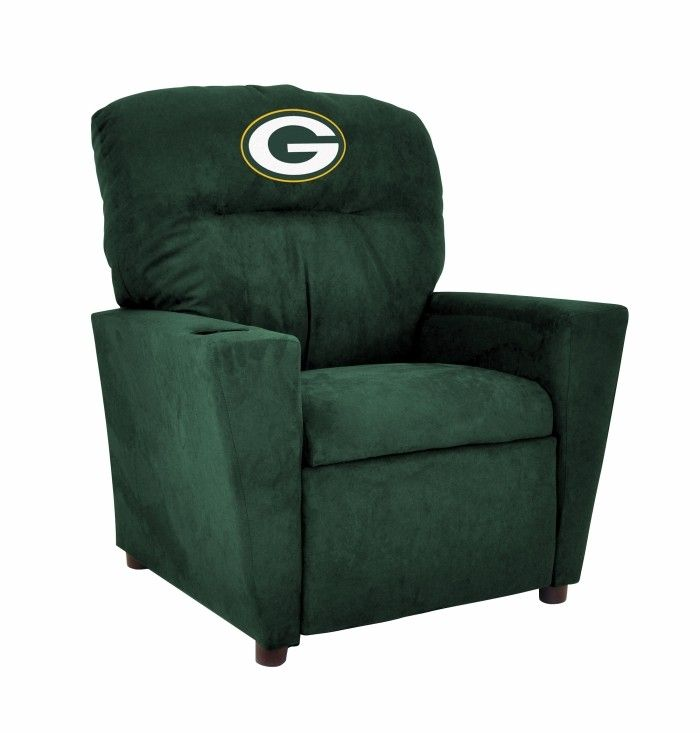 Green Bay Packers NFL Kids/Childrens Recliner Chair Furniture