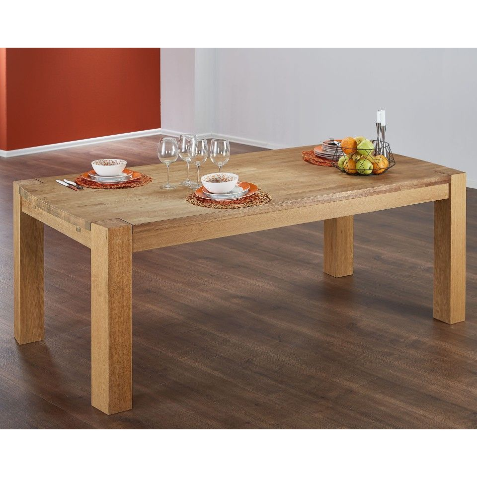 Esstisch Goliath 100x200 Eiche Geolt In 2020 Dining Bench