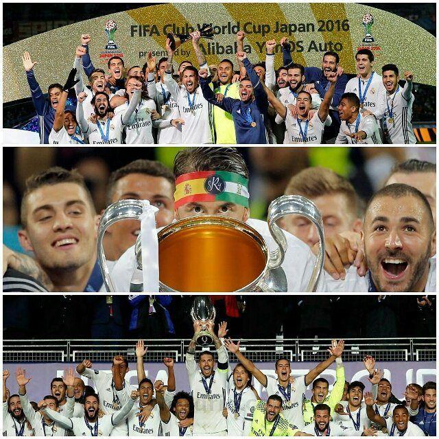 @sr4oficial Cerramos 2016 con un palmarés a la altura del mejor club del mundo @realmadrid: