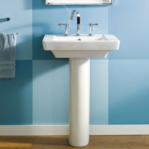 View Boulevard 24 Inch Pedestal Sink Alternate View Sink