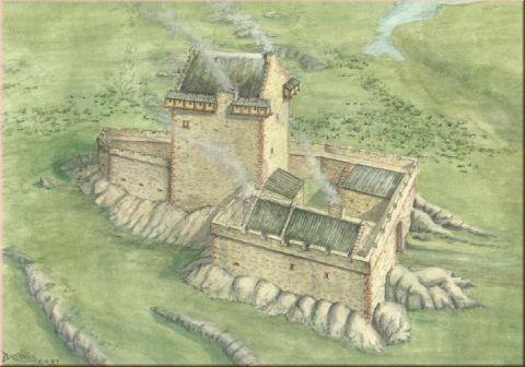 Medieval Scenery And Accessories Green Line Qk Tower House 1 72 Fantasy Castle Medieval Castle Medieval