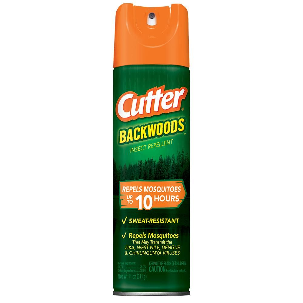 Cutter 11 Oz Backwoods Mosquito And Insect Repellent Aerosol With 25 Deet Insect Repellent Insect Repellent Spray Insects