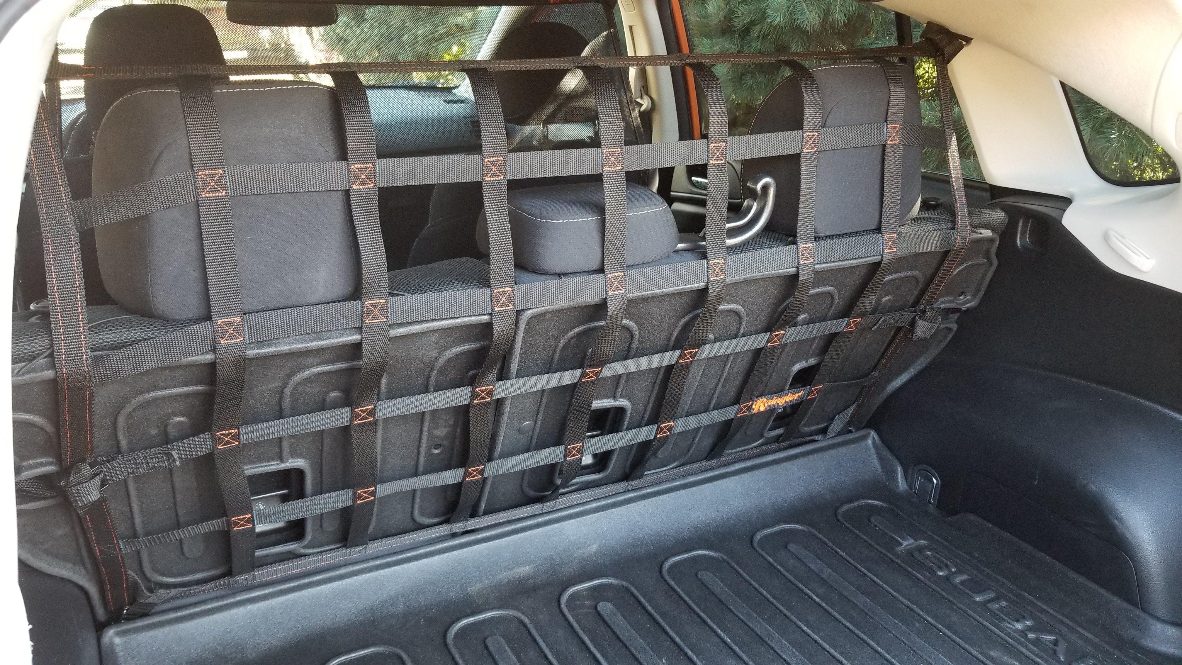 2011 newer Subaru Crosstrek XV Impreza behind rear seat barrier