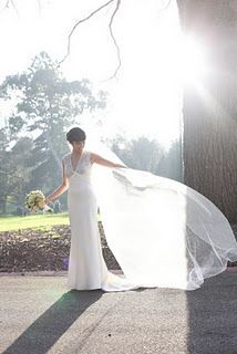 a beautiful cathedral veil!
