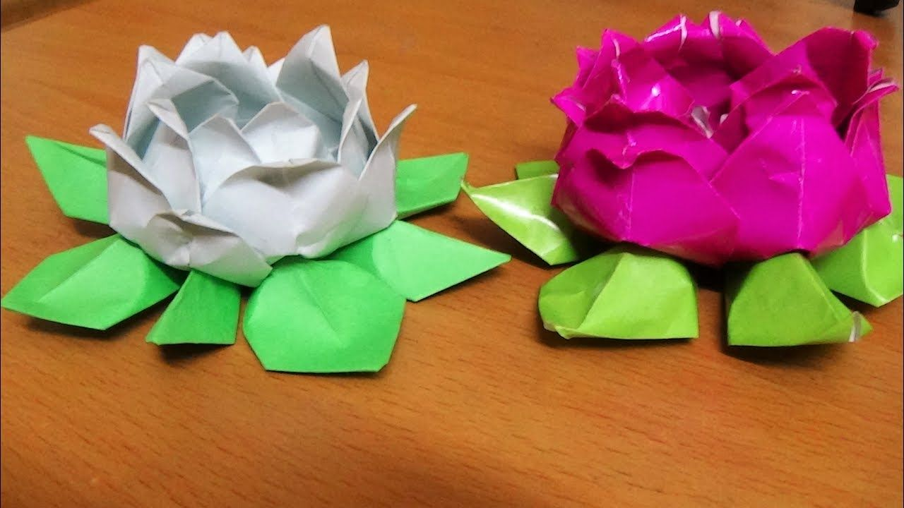 Origami Art How To Make An Origami Lotus Flower Art Guru